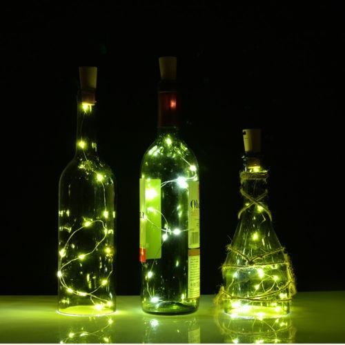 3 x 30'' corcho botella en forma de led noche... (white)