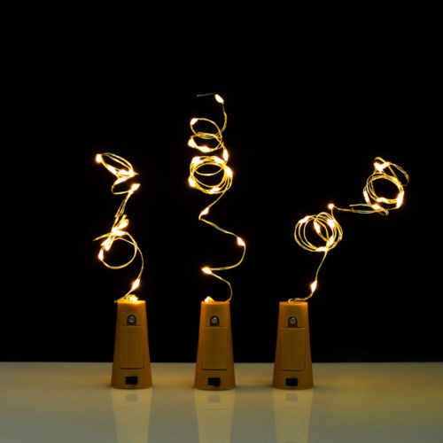 3 x 30'' corcho botella en forma de led... (rgb multi)