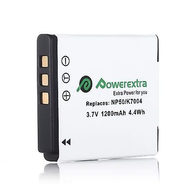 Nuevo 2 Piezas Batería Cargador Para Fuji Np-50 np-50a Fujifilm Finepix F50fd f550exr