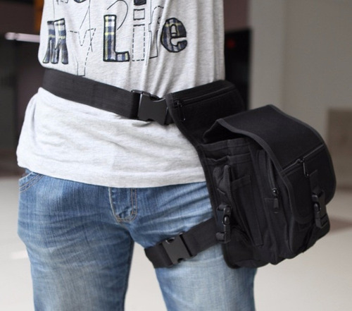 3 x1 mochila maletin táctica militar pouch cintura muslera