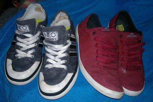 3 zapatillas urbanas adidas casuales remate all star rojas