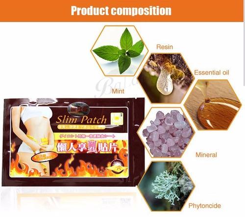 30 adesivo emagrecedor natural slim patch pronta entrega