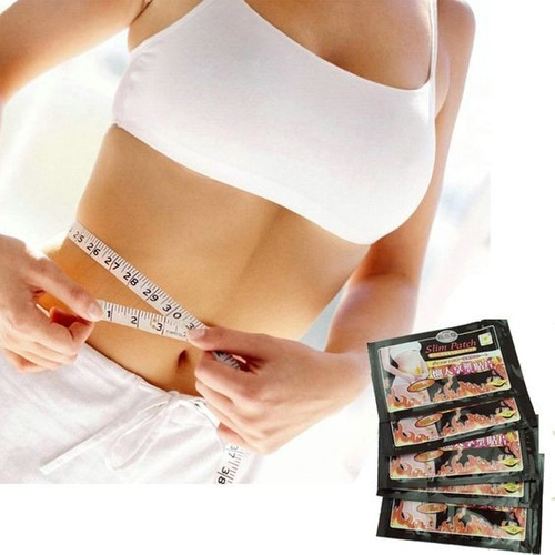 30 adesivos de emagrecimento perda de peso slim patch