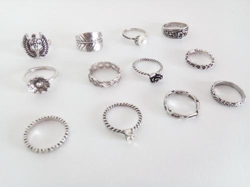 30 anillos hindú boho por mayor oferta modelos surtidos