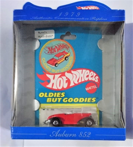 30 años hot wheels 1968-1998 auburn 852 rojo oldes but goodi