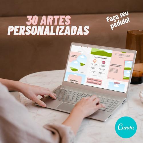 30 artes personalizadas para insta, face e whats