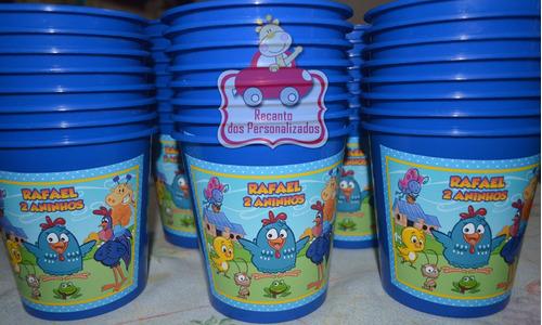 30 baldinhos de pipoca personalizados