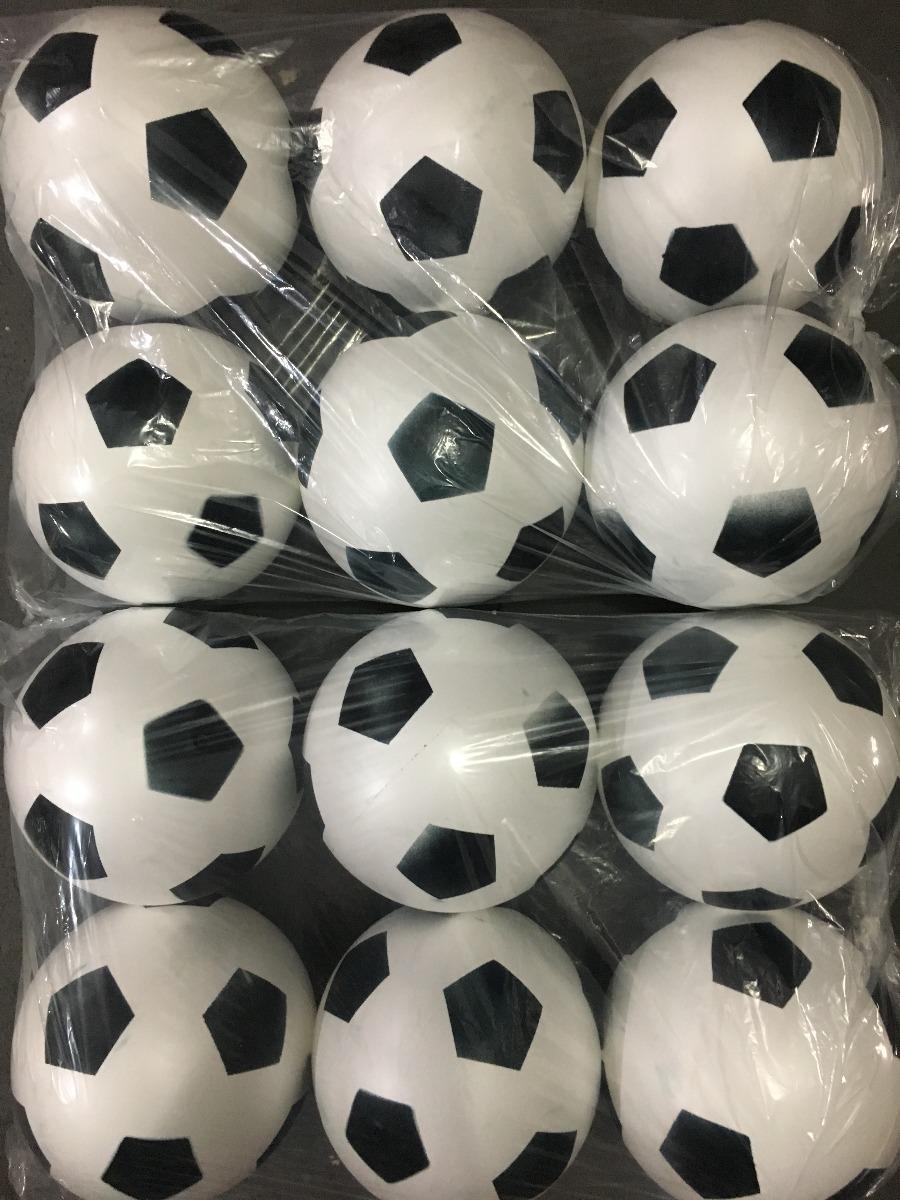 b6a02b4620c2 30 Bola De Vinil Dente De Leite Branco Com Preto De Futebol. - R$ 94 ...