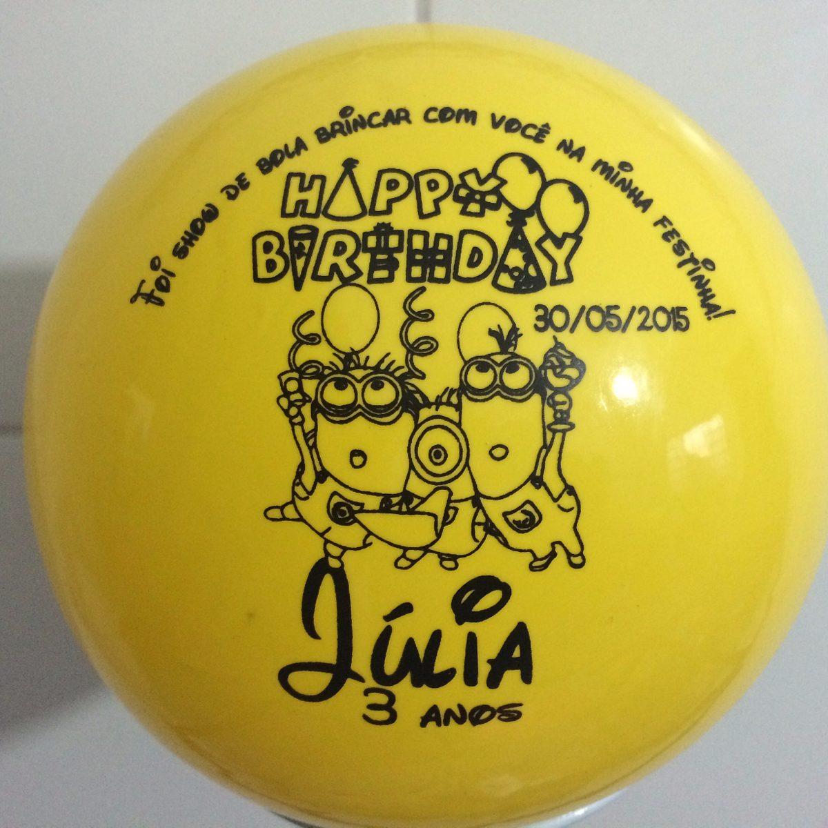 31357d693 30 bolas personalizadas lembrancinhas aniversários-lindas. Carregando zoom.