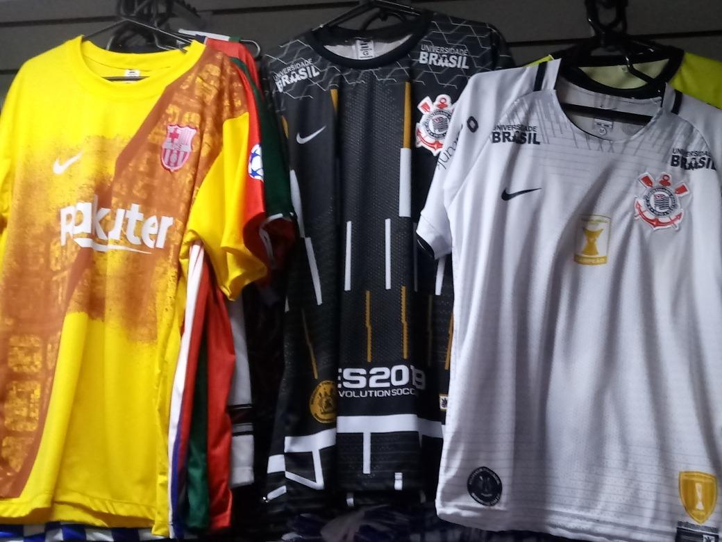 30 Camisas Time Futebol Revenda - R  540 bcf406953336c