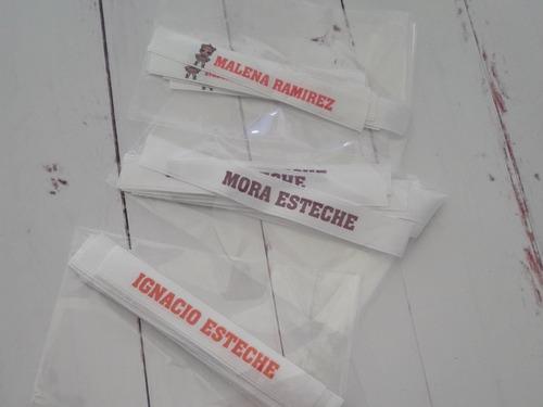 30 cinta personalizada para coser cole o jardín