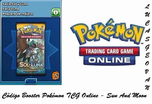 30 códigos booster pokémon tcg online - sun and moon