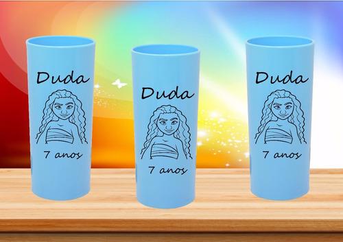 30 copos long drink personalizados moana