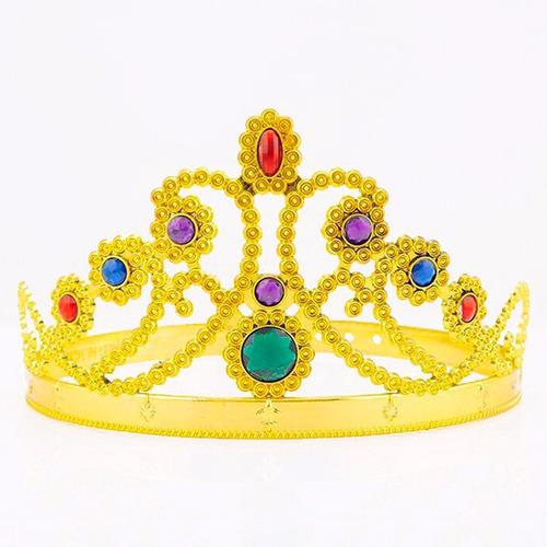 30 coroa de rainha princesa fantasia infantil lembrancinha