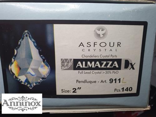 30 cristais asfour placa bacalhau 5,0 cm para lustres
