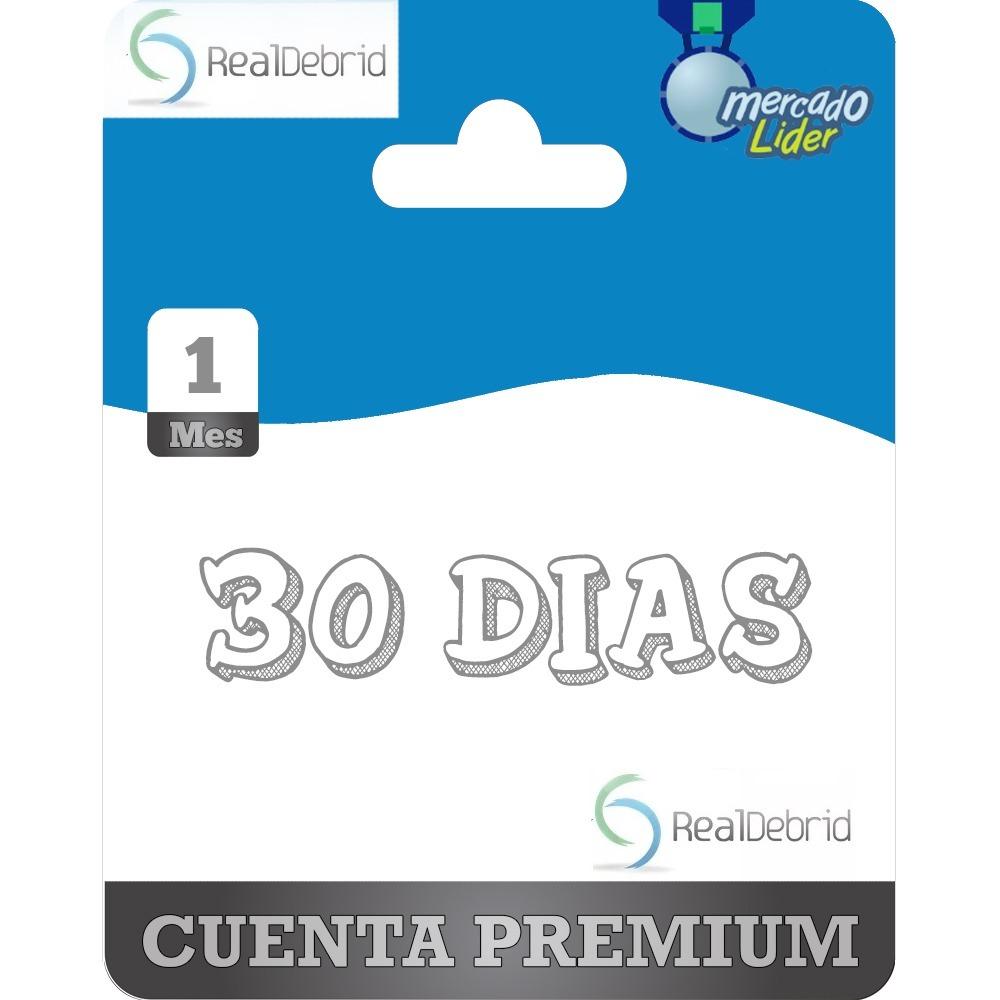 30 Dias Real-debrid Premium ( Uploaded Rapidgator Mega Etc )