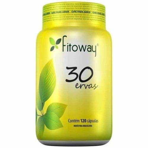 30 ervas - 120 cápsulas - fitoway