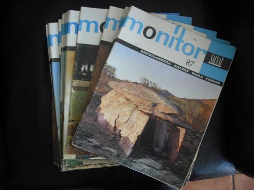 30 fasiculos de la revista monitor  salvat (r535