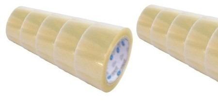30 fita adesiva transparente 45mm x 100metros - 30 unidades