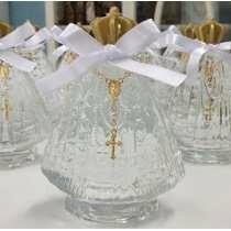 30 frasco de vidro nossa senhora aparecida tampa metalizada