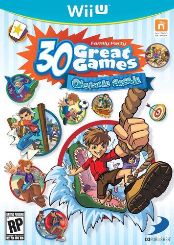 30 great games juego original sellado wii u