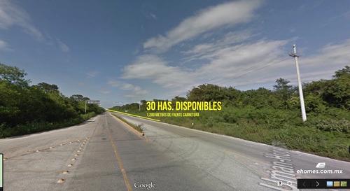 30 hectáreas a 12 km de mérida, carr. uxmal-campeche