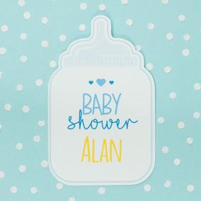 Baby Shower Principe Invitaciones Y Tarjetas Por 30