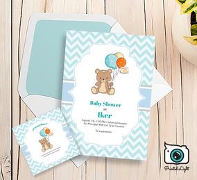 Invitacion Baby Shower Unicornio Por Unidad Invitaciones