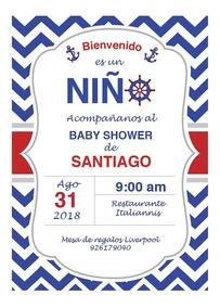Diablo 1 18 Invitaciones Y Tarjetas De Baby Shower Por