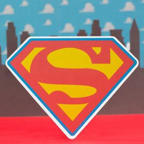 Tarjeta Superman Holograma Invitaciones Y Tarjetas Por 30