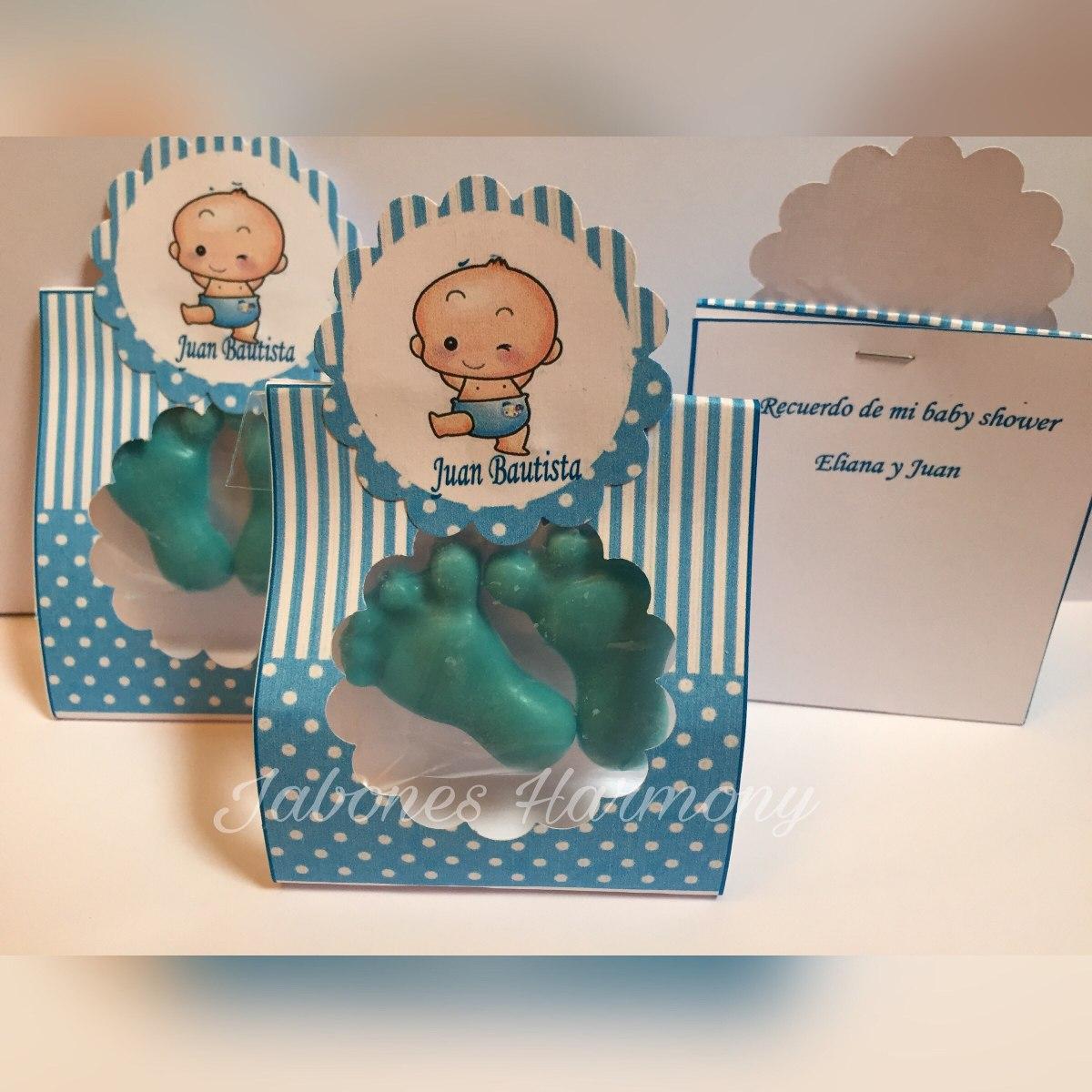 30 Jabones Souvenirs Piecitos Baby Shower Nacimiento - $ 390,00 en ...