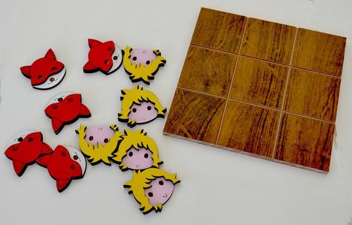 30 jogos da velha pequeno príncipe mdf - lembrancinha