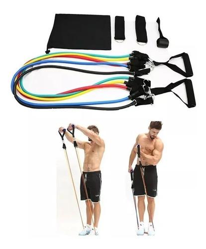 30 kit 5 ligas resistencia deportes latex bandas elasticas
