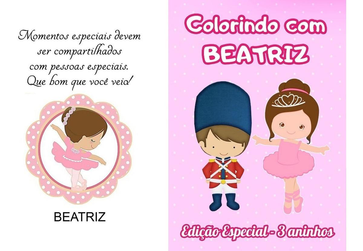 30 Kit De Colorir Revista E Giz Bailarina E Soldadinho