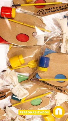 30 kits pintor bolsitas sorpresitas infantiles cumpleaños