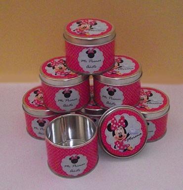 30 latas personalizadas 5 x 6,5 - souvenir personalizado!
