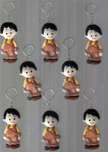 30 lembrancinhas menino heitor  chaveiros ou imãs  biscuit