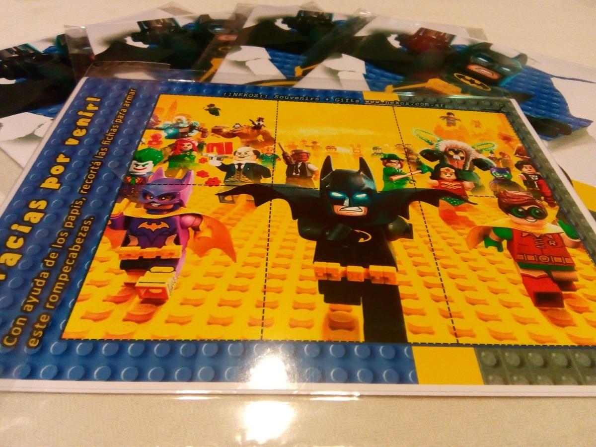 30 Libritos P/pintar Souvenirs Lego Batman Dc Comics 10x15 - $ 330 ...