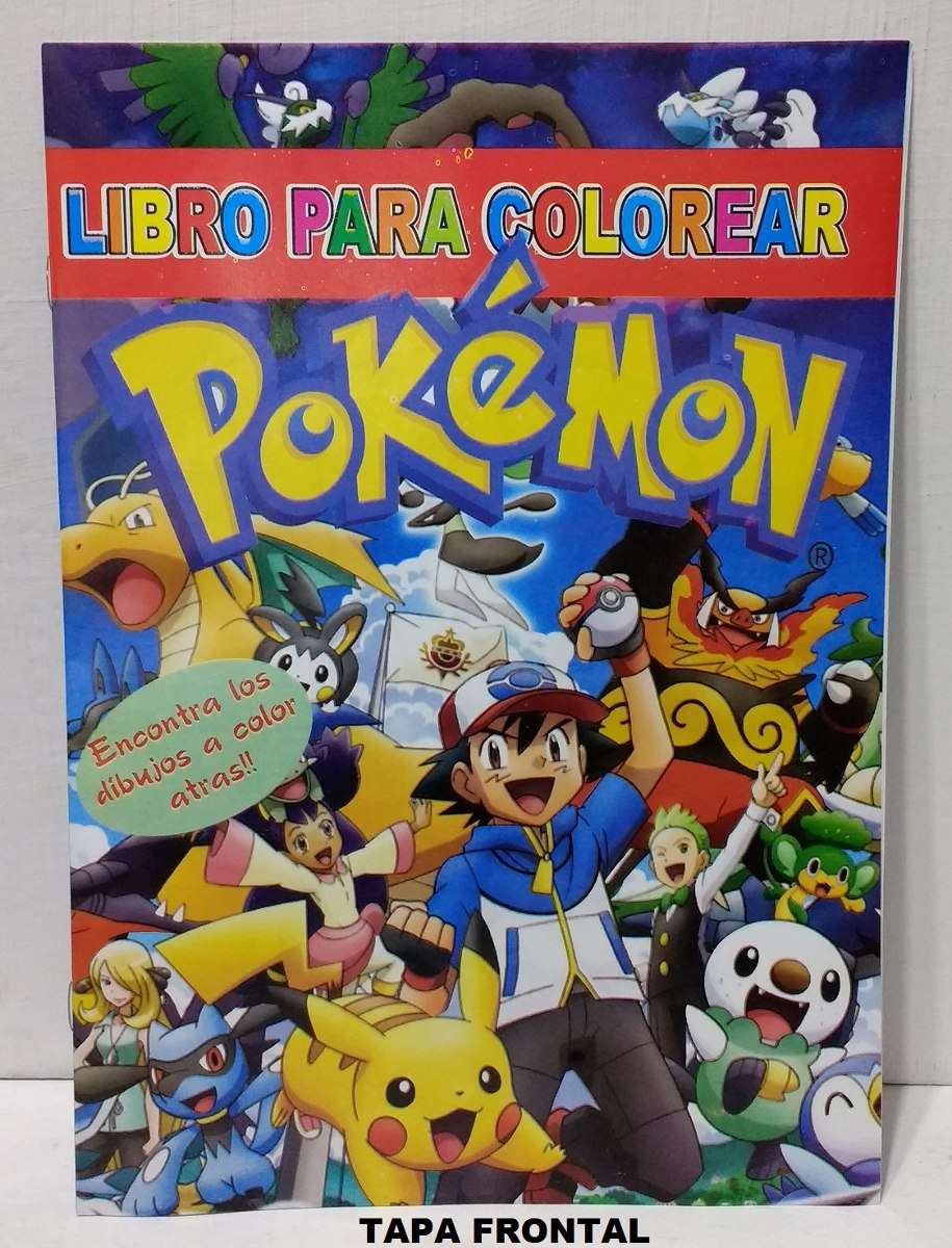 Perfecto Páginas De Color Pokemon Componente - Enmarcado Para ...