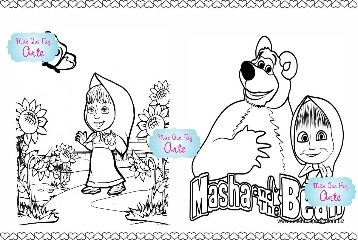 30 Livros De Colorir Masha E O Urso R 80 00 Em Mercado Livre