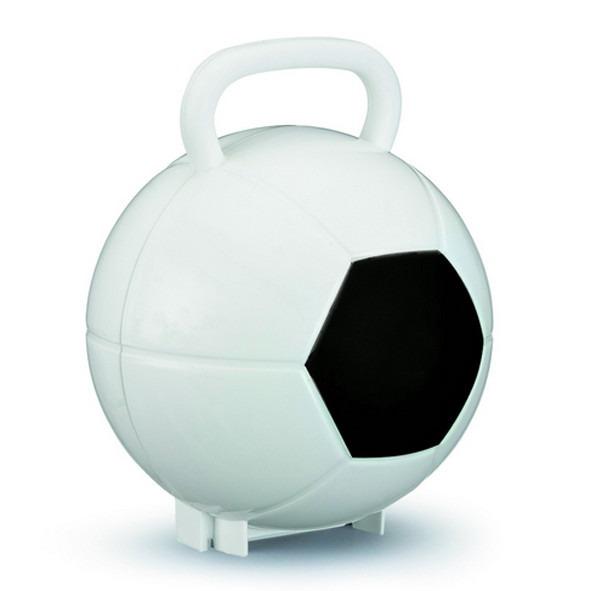 075966e2f 30 Maletas Bola De Futebol Plástico Lembrancinha - R  199