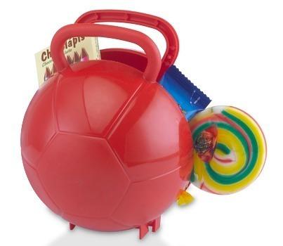 9b3712618 30 Maletas Bola De Futebol Plástico Lembrancinha Branca - R  199