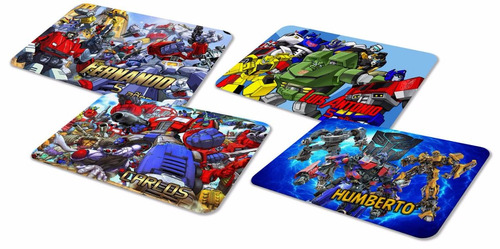 30 manteles transformers optimus rescue bots ¡envío gratis!