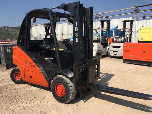 30) montacargas linde h35d-01 7000 lbs diesel 2010