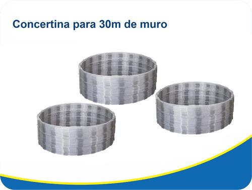 30 mts concertina ouriço cerca arame farpado proteção 300mm