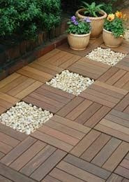 30% off - deck modular de bamboo