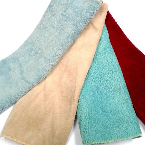 30 panos microfibra flanela lavagem carro seco * ultra soft