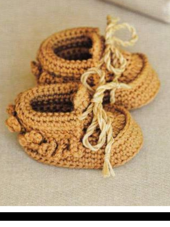 30 Patrones Zapatitos Botitas Bebe Crochet Ingles - $ 100,00 en ...