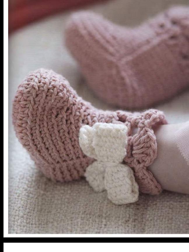 0dc8382ec 30 Patrones Zapatitos Botitas Bebe Crochet Ingles - $ 100,00
