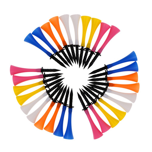 30 pedazos de golf tees multicolor accesorio deportivo de go